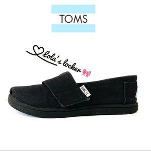 TOMS Black Alpargata Shoes